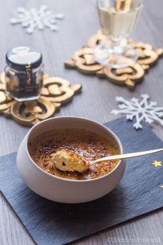 Crème brulée au Foie Gras et Truffe Noire