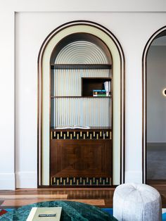 Design Café, Art Deco Design, Wall Design, Architecture Restaurant, Architecture Details, Restaurant Banquette, Steel Frame Doors, Function Room, Tadelakt
