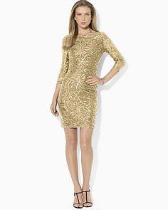 Lauren Ralph Lauren Boatneck Jersey Dress   Bloomingdale's