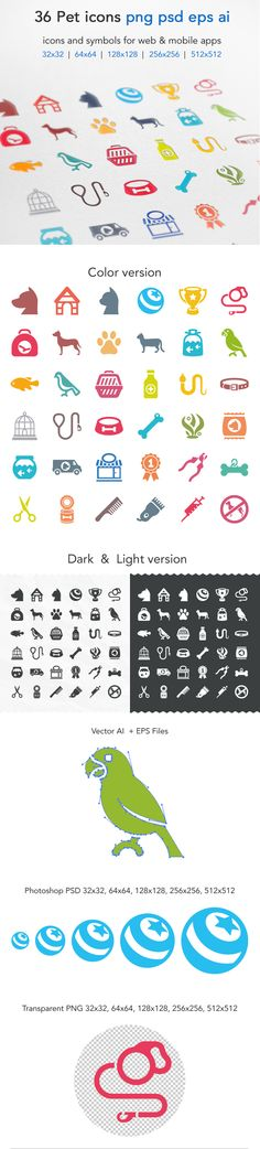 Pet Icons on Behance
