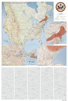 Infinite (Jest)Map limited edition print- oh man, as a David Foster Wallace disciple, this is a MUST HAVE