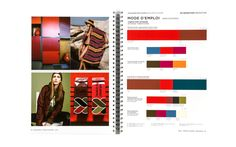 peclers COLORS TREND BOOK SPRING SUMMER 2015