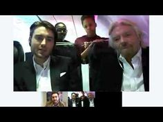 Virgin Americas Fly Like a Boss Chat with Richard Branson and Pete Cashmore