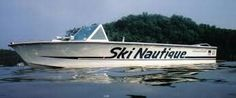 Vintage Ski Nautique Vintage Boats, Vintage Ski, Marine Gear, Ski Boats, Winter Haven, Lake Life, My Happy Place, Boating, Badass
