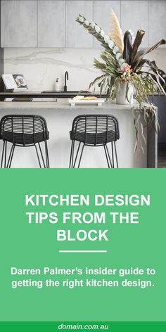You want to properly decorate your kitchen , whether it is an open kitchen or closed, small or large, in length . House side went to meet three kitchen experts who deliver the mistakes to avoid in the kitchen. layout of your ideal kitchen . Kitchen Stools, Diy Kitchen, Kitchen Dining, Kitchen Ideas, Kitchen Styling, Home Staging, Decoration, Home Kitchens, Indoor Outdoor