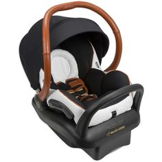 """Protect little jetsetter with the Maxi-Cosi x """"Mico Max 30"""" Jet Set This special edition car seat, by award-winning designer Rachel Zoe, is the lightest car seat in it's class, but still provides head and neck support for babies.  The Maxi-Cosi x Mico Max 30 Jet Set Infant Car Seat allow you to provide your baby with superior protection and comfort, while remaining stylish Designed by award winning fashion designer, Rachel Zoe Safely seats children 4 lb. to 30 lb., and up to 32"""" tall 5-..."""