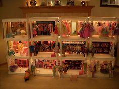 Barbie Store Plastic Shelving Units, Barbie Store, Restoration, Home Decor, Decoration Home, Plastic Shelves, Room Decor, Home Interior Design, Home Decoration