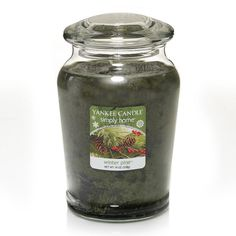 Yankee Candle simply home 19-oz. Winter Pine Jar Candle, Green