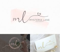Watercolor Logo Design, Custom Logo Design, Custom logo, Business Logo, watercolor logo, Photography Logo, Boho chic