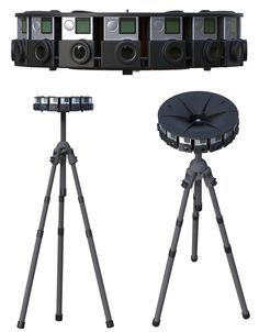 Whoa! Google just announced a new virtual reality system called Jump that uses a special new 360-degree camera array for 16 separate GoPro cameras. This takes the concept to a whole new level.