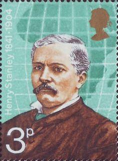 British Explorers 3p Stamp (1973) H.M. Stanley