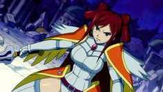Fairy Tail | Erza Scarlet in Morning Star Armor (Anime)
