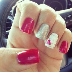 Valentine's Day Nails