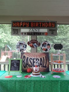 """""""Have a Ball"""" Sports Themed Birthday Party Ideas"""