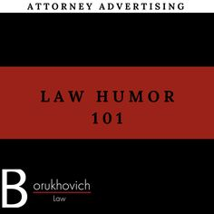 Why so serious? The Law Office of Biana Borukhovich loves a good laugh! Follow our board for a good chuckle #law #humor #funny #joke #comedy #laugh #BBLaw #attorney #lawyer