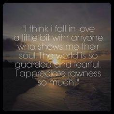 Raw ness is awesomeness