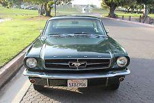 Ford : Mustang Base 1965 ford mustang base