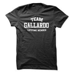 TEAM NAME GALLARDO LIFETIME MEMBER Personalized Name T- - #boyfriend hoodie #pink sweater. ORDER HERE => https://www.sunfrog.com/Funny/TEAM-NAME-GALLARDO-LIFETIME-MEMBER-Personalized-Name-T-Shirt.html?68278