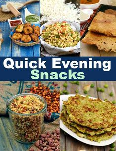 झट पट शाम के नाश्ते की रेसिपी, Quick Evening Snack Recipes in Hindi Quick Indian Snacks, Evening Snacks Indian, Healthy Evening Snacks, Quick Healthy Snacks, Healthy Brunch, Easy Snacks, Indian Snacks For Kids, Evening Snacks For Kids, Quick Snacks For Kids