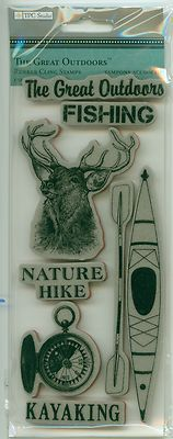 Image result for tpc studio rubber stamps the great outdoors