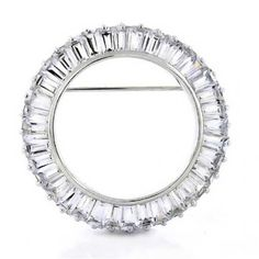 Bling Jewelry Sterling Silver Baguette CZ Circle of Life Pin Brooch >>> To view further, visit http://www.amazon.com/gp/product/B002ZI43CG/?tag=finejewelry4u.com-20&pij=130716045308