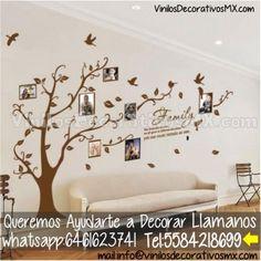 Arbol de Vinil Decorativos para Poner Fotos