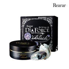 REARAR Anti-Aging Diaforce Hydro-Gel Eye Patch Black Pearl 60pcs/90g K-Beauty #MISKIN