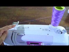 Come infilare la macchina da cucire Brother CX70PE - YouTube