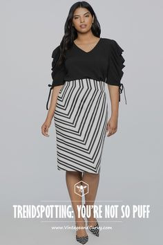 129c6b4754 Plus Size Skirts and Blouses · Spot with me? Welcome to Another Bold &  Beautiful Plus Size Trendspotting Thursday on Vintage