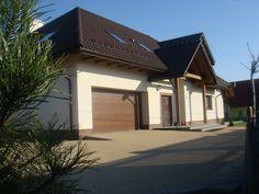 Część garażowa  #projekt #dom #garaż