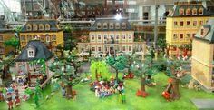 Playmobil Victorian diorama Athens, Greece 2012