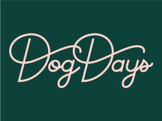 Sundays For Dogs badge illustration icons typography startup brand identity branding brand dog Font Hand Lettering, Types Of Lettering, Script Lettering, Typography Quotes, Typography Inspiration, Typography Letters, Lettering Design, Graphic Design Inspiration, Script Type