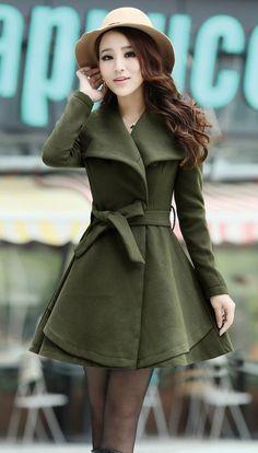 Color: khaki, army green, pink, orange   Size:M/length:86cn,/Bust:88cm,/outside sleeve:61cm./Shoulder width: 34cm.  Size:L/length:87cn,/Bust:92cm,/outside sleeve:62cm./Shoulder width: 35cm.   Size:XL/length:88cn,/Bust:96cm,/outside sleeve:65cm./Shoulder width: 36cm.  Size:XXL/length:89c...