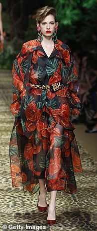 Totally tropical at Dolce & Gabbana... Combat Pants, Tough Girl, Looking Gorgeous, Summer Wardrobe, Wide Leg Pants, Lounge Wear, Cool Style, Mini Skirts, White Dress
