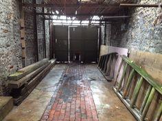Entrance courtyard to workshop