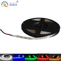 1 메터 5 메터 60les/m 울트라 밝은 LED 스트립 빛 SMD2835 12 볼트 DC 풀 LED 릴 2835 다이오드 테이프 LED 스트립 빛 리본 유연한