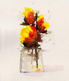 Sunshine in a Vase by Anne Duke