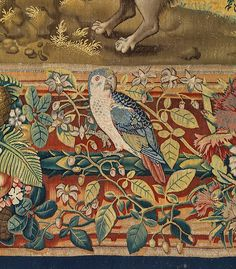 """Designed by Pieter Coecke van Aelst (Netherlandish, 1502–1550). Seven Deadly Sins: Pride tapestry (detail), designed ca. 1532 - 1534, woven ca. 1542 - 1544. Woven under the direction of Willem de Pannemaker, Brussels. Patrimonio Nacional   This work is featured in """"Grand Design: Pieter Coecke van Aelst and Renaissance Tapestry,"""" on view October 8, 2014–January 11, 2015. #tapestrytuesday #granddesign"""