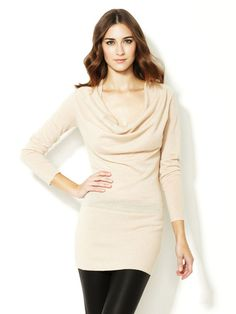 Draped Cashmere Tunic by Autumn Cashmere on Gilt.com