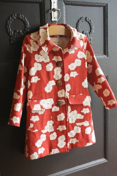 probably actually :: a fall jacket   Wondering if my girls would wear this if I made it.
