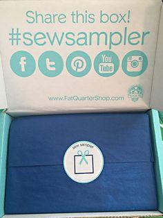 Sew Sampler Subscription Box Review + Coupon - May 2016 - Read our review of the May 2016 Sew Sampler Subscription Box!
