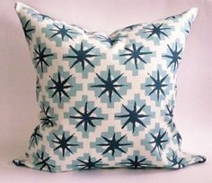 Peter Dunham Starburst Pillow Cover by WestEndAccents on Etsy