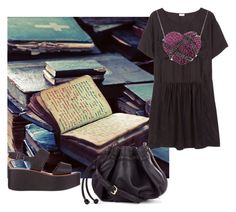 The spirit of old books by peppermintdm on Polyvore featuring мода, River Island and Sole Society