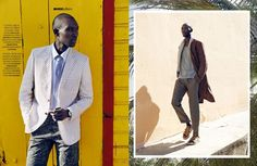 Madame Figaro Avril 2015 featuring Armando Cabral by Fred Meylan