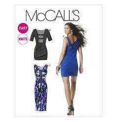 Dress Back Interest   2010's  McCall's Pattern  by patterntreasury