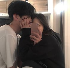 Image about couple in ( ulzzang ) by ; ⊹ ✧ on We Heart It Korean Girl Ulzzang, Couple Ulzzang, Mode Ulzzang, Couple Goals, Cute Couples Goals, Korean Aesthetic, Couple Aesthetic, Relationship Goals Pictures, Cute Relationships