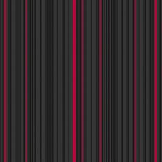 Maestro Stripe Black / Red Wallpaper by Graham and Brown