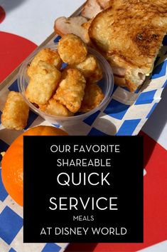 When planning to make a trip to Disney World, I get so excited about which rides I want to experience first or which park I want to end my trip with by visiting last. Those decisions typically vary from trip to trip. However, when it comes to food, we have some tried and true dining selections we visit every single time. These are shareable quick service meals and that also means a great money saver!#waltexpress #waltdisneyworld #disneyworlddining Dining At Disney World, Disney Dining Tips, Disney World Food, Disney World Magic Kingdom, Disney World Parks, Disney World Resorts, Disney Vacations, Disney World Hollywood Studios, Downtown Disney