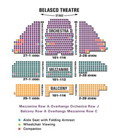 Midland theater Seating Chart