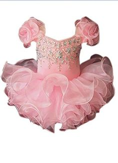 Dexin Baby Girls' Mini Cupcakes Ruffles Toddlers Pageant Dresses 2/2T US Pink Dexin http://www.amazon.com/dp/B01ALIHIHS/ref=cm_sw_r_pi_dp_eSfMwb0B6WSPY